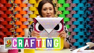 How to Craft a Duct Tape Owl Tote