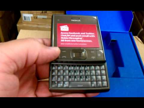 Nokia X5-01 Unboxing Video - Phone in Stock at www.welectronics.com