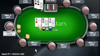 Раздача дня Школы Покера PokerStarter: Доминируемая рука.