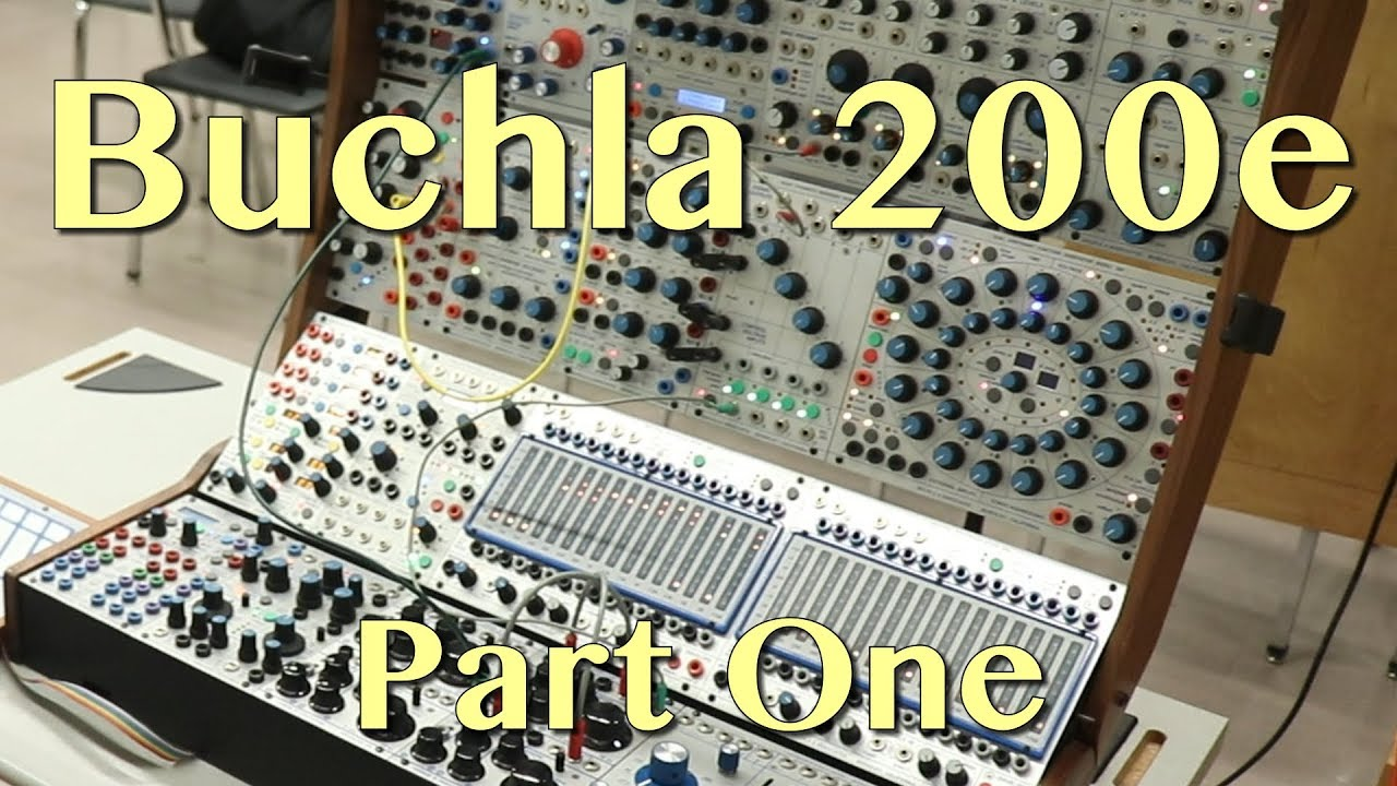 the mighty buchla 200e modular synthesizer part 1 tutorial youtube. Black Bedroom Furniture Sets. Home Design Ideas