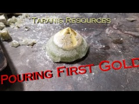 Pouring Our First Gold - Taranis Resources Inc.