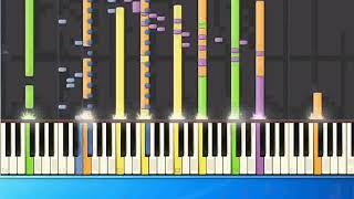 [Piano Tutorial Synthesia]Hothouse Flowers - Dont go (pr)