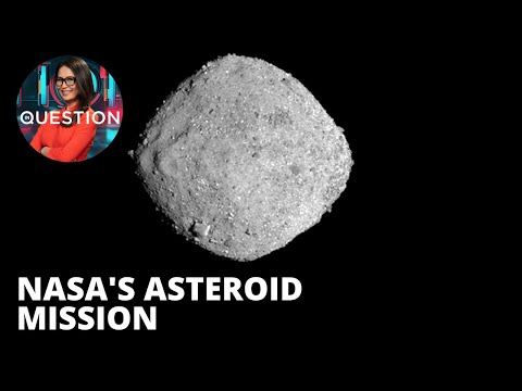 NASA's OSIRIS-REX collects samples from ancient asteroids