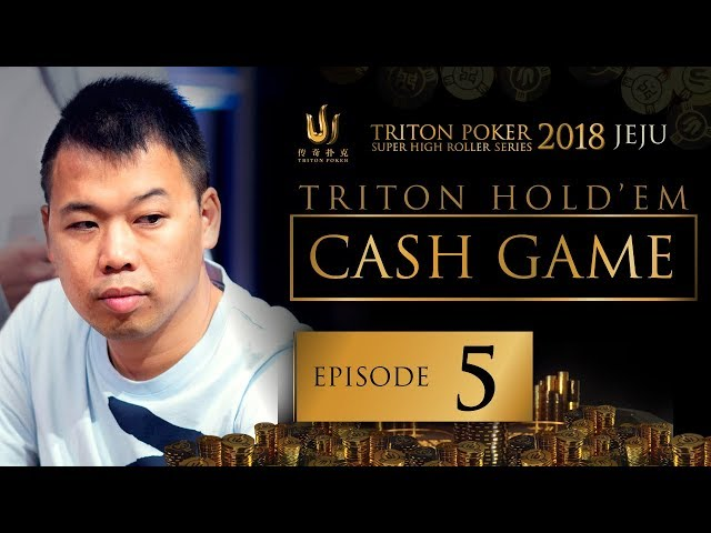 Triton Poker SHR Jeju 2018 Short Deck Cash Game - Episode 5