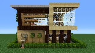 Minecraft 360: Modern House Tutorial (House Number 3)(House Roundup 3 : http://www.youtube.com/watch?v=KHMdFAroqqs House World Download Link: ..., 2014-01-18T21:15:18.000Z)