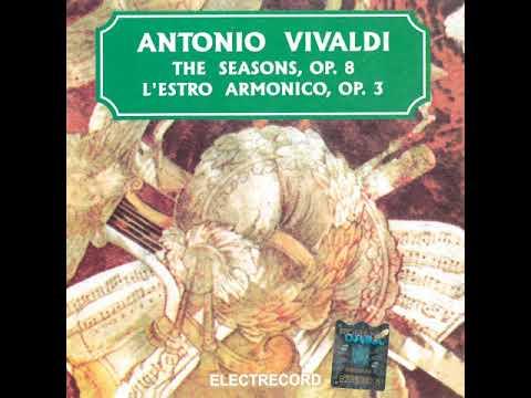 Antonio Vivaldi - L'Estro Armonico, op. 3, Concerto no. 6 in A minor, rv 356, Allegro-Largo-Presto