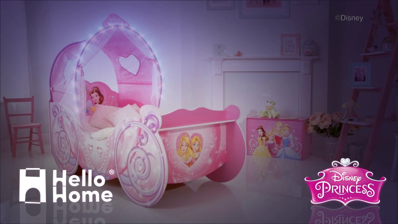- Disney Princess Carriage Toddler Bed SHORT Advert - YouTube