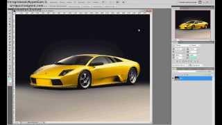 Уроки в Photoshop CS5 - #1 (Покраска машины)