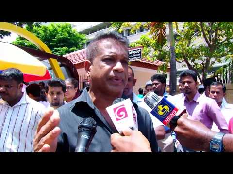 Protest march by ' Anti-SAITM People's Wall' at colombo