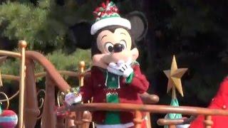 ºoº [スニーク] ディズニークリスマスストーリーズパレード 2016 新コスチューム 東京ディズニーランド クリスマスファンタジー thumbnail