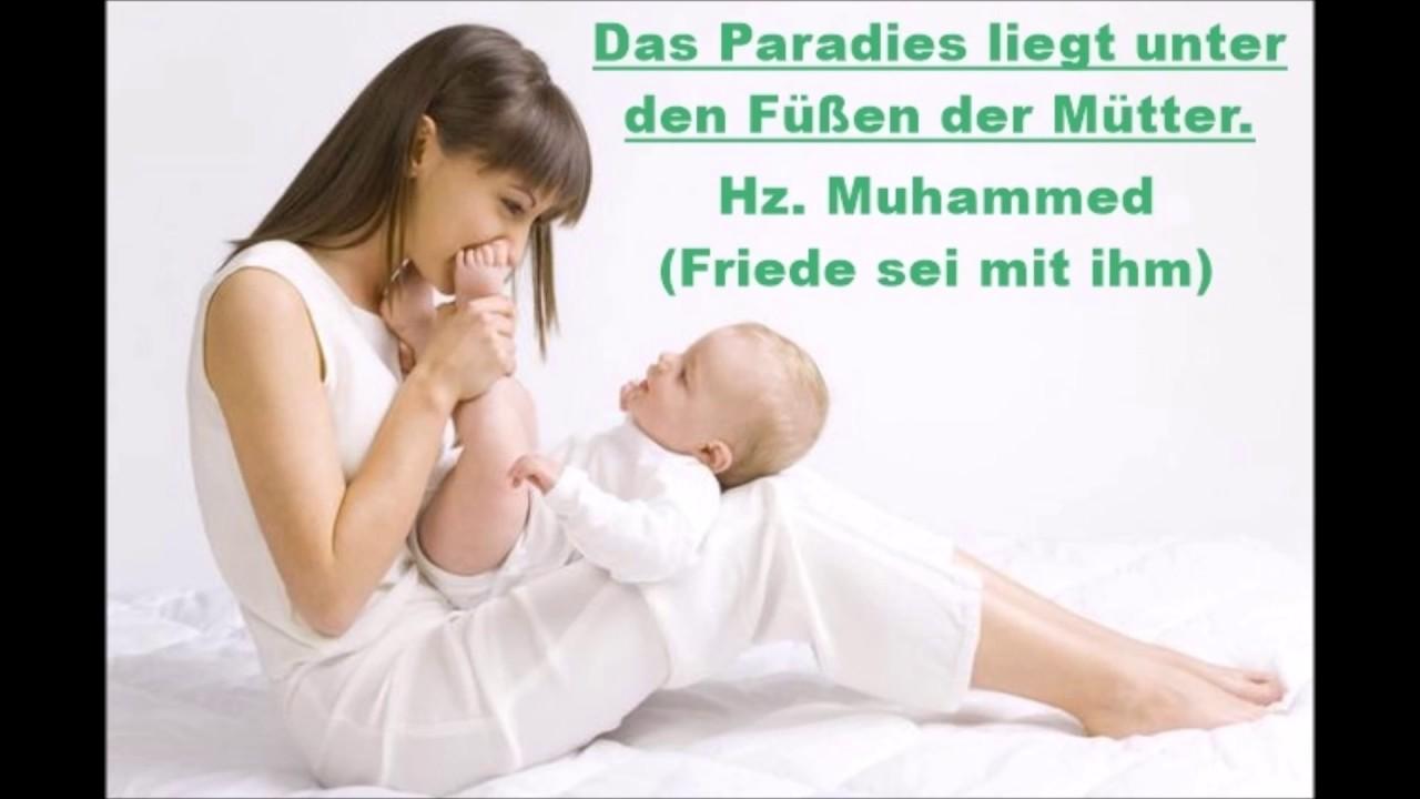 Das Paradies Liegt Unter Den Füßen Der Mütter