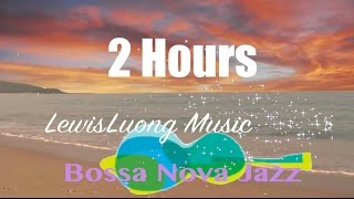 Bossa Nova Jazz Music: Relaxing summer piano instrumental songs & musica (Tropical Beach Video)
