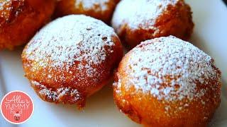 10 MIN Donuts Recipe (Ponchiki) | Творожные пончики за 10 минут