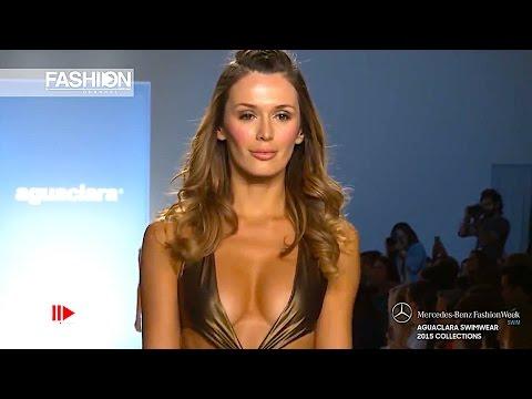 """""""AGUACLARA""""  Miami Fashion Week Swimwear Spring Summer 2015 HD by Fashion Channel"""