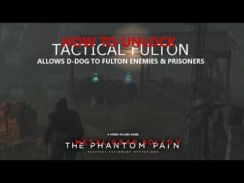 MGSV: TPP - How To Unlock Tactical Fulton For D-Dog