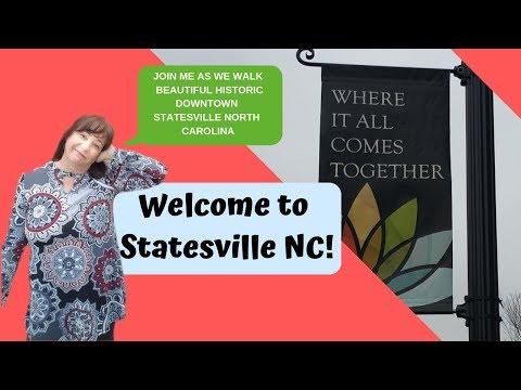 Historic Downtown Statesville NC Walking Tour
