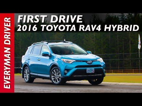 Here's the 2016 Toyota RAV4 Hybrid Test Drive on Everyman Driver