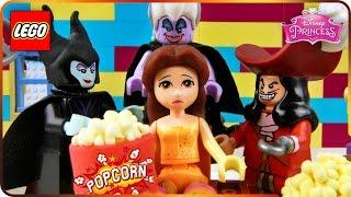 ♥ LEGO Disney Princess LAZY BELLE Watching TV (Enchanted Guardians, Pie Baking, Christmas Nightmare)