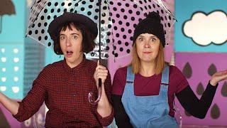 Rain Rain Go Away | I hear thunder | Holly and Milly | Nursery Rhymes | Kids Songs