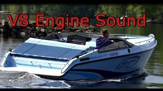 V8 Monster Boat Baja 240 Listen to the engine sound!