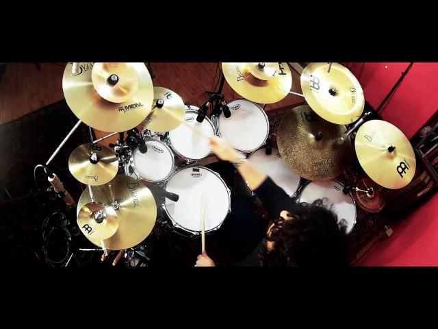 SONOR PROLITE - MEINL -DANIELE POMO - Drum Promo - From Blue to Red