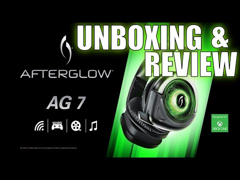 Afterglow AG7 Headset HD QUALITY (xbox one ps4 and pc)