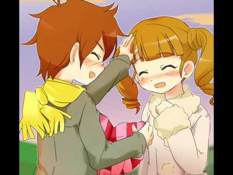 Uta Yumeno & Kogure Kakeru - I'm in love ( I wanna do it ...Onegai My Melody Uta And Kakeru