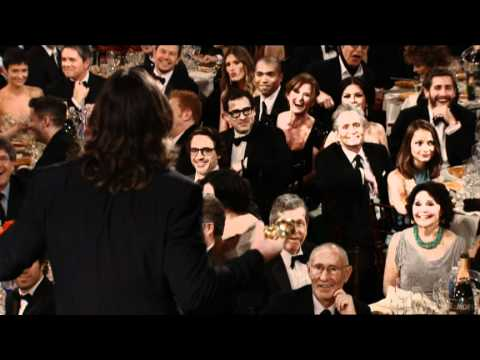 Christian Bale Wins Best Supporting Actor Motion Picture - Golden Globes 2011