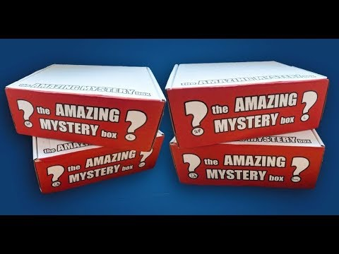 The Amazing Mystery Box - Febuary 2019 - NEW SUBSCRIPTION BOX - Funko Pop Vinyl - UK