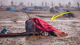 Вот Зачем Индийские Рыбаки Накрываются Одеялами