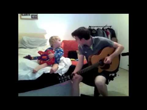 My first ever duet with my 1 year old baby brother