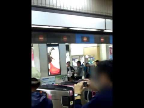 旧東横線渋谷駅改札前