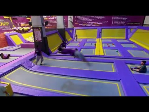 TRAMPOLINE PARK PHILIPPINES - Zero Gravity Zone