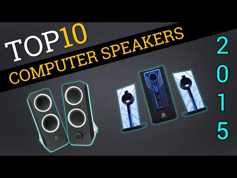 Top Ten Computer Speakers 2015 | Best PC Speakers