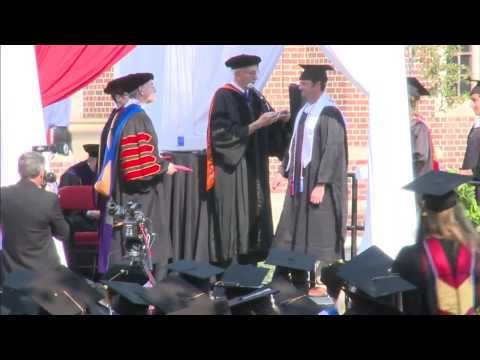 2013 Summer Commencement at the University of Denver