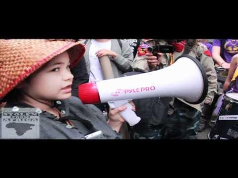 11 Year old Ta'Kaiya Blaney leads Enbridge pipeline protest in #toronto