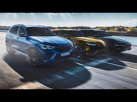BMW X5M vs LAMBO URUS и Porsche! РАЗБИЛИ КАМЕРУ. DRAG RACE! Lamborghini. Cayenne turbo. Тест. GLE 63