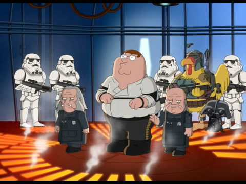 Family Guy Han Carbon F-Off