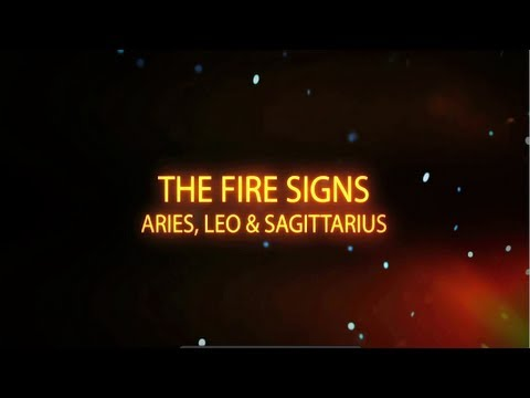 Fire signs zodiac inside connection episode 2 with for The sign