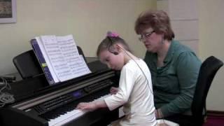 """Урок с Вероникой. """"Свободное фортепиано"""". Часть 1/5"""
