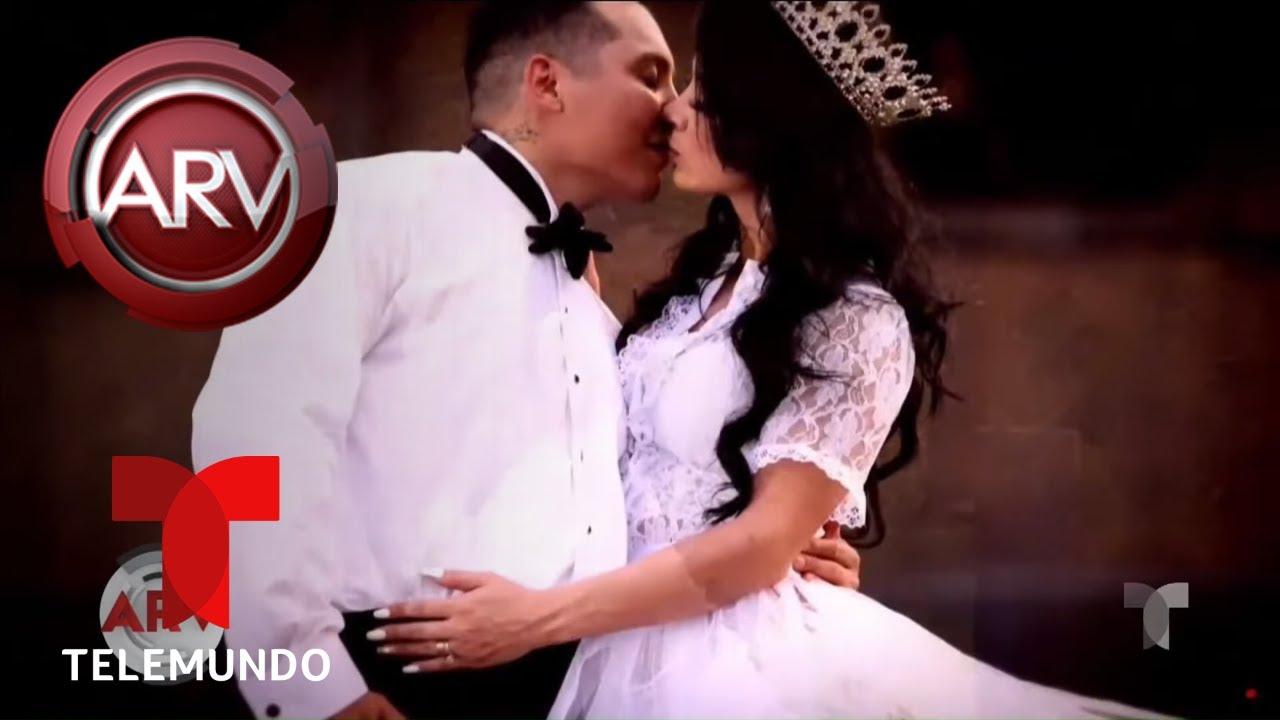 La Boda De Edwin Luna Y Kimberly Flores Llena De Lujos Y Polémica Al Rojo Vivo Telemundo