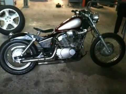 yamaha virago 125 bobber youtube. Black Bedroom Furniture Sets. Home Design Ideas
