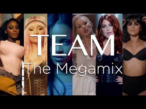 TEAM  Dance Megamix ft Iggy Azalea Ariana Grande Justin Bieber Beyonce Selena Gomez