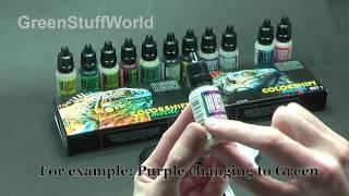 Chameleon Paints Tutorial 2 - Base Coats (English)