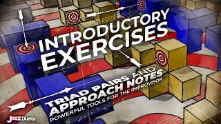 Introductory Triad Pair Chromatic Approach Note exercises- all instruments thumbnail