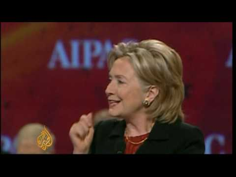 Clinton's message to pro-Israeli lobby