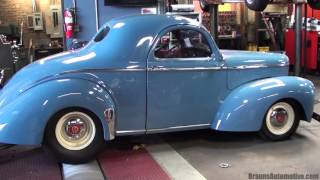 1941 Willys coupe dyno run