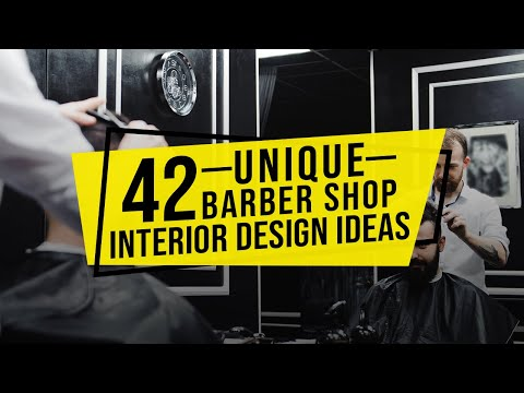 42 Unique Barber Shop Interior Design Ideas | Pictures Layouts and Architecture | 2019