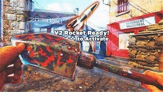 WORLD'S FIRST SHOVEL ONLY V2 ROCKET in Call of Duty WW2! COD WW2 SHOVEL 25 Killstreak! (SHOVEL NUKE)