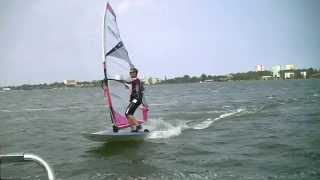 Learn carving  how  carving Jibe  , Windsurfing  Lessons - Lulu Mamaia